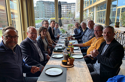 Etentje met sociale ondernemers