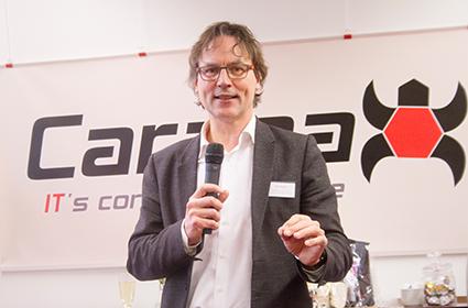 Opening Carapax IT Eindhoven door wethouder Staf Depla