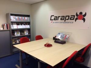 Vergaderruimte competence center Carapax IT Gouda