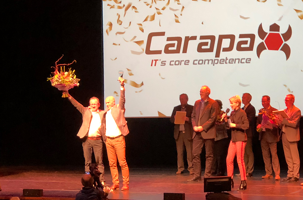 Carapax IT is Winnaar Ondernemersprijs 2018
