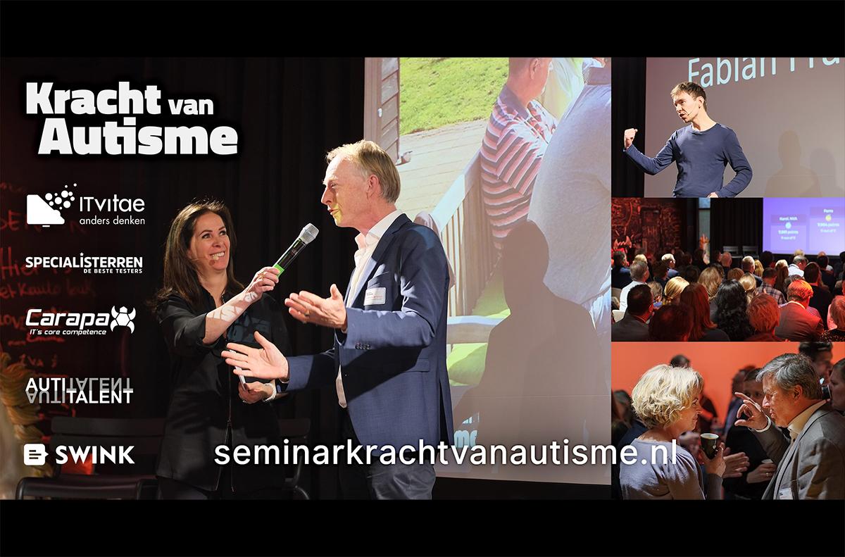 Seminar Kracht van Autisme georganiseerd door oa Carapax IT